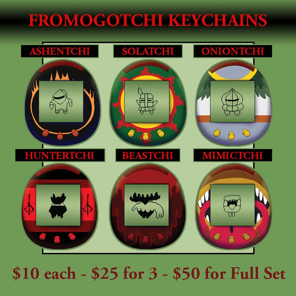Fromogotchi Keychain Pre-Orders Open!