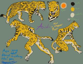 Aislin Character Sheet Redo (Jaguar Form)