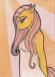 Fluttershy in the Sunrise
