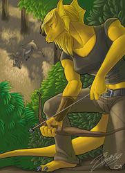 Serylis on the Hunt