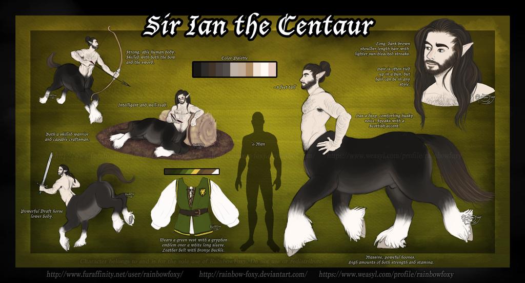 Sir Ian the Centaur