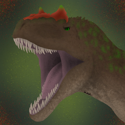 J-rassic Allosaurus