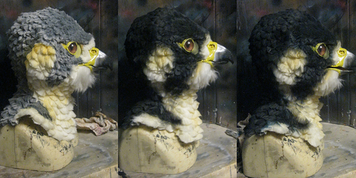 falcon airbrushing timeline!