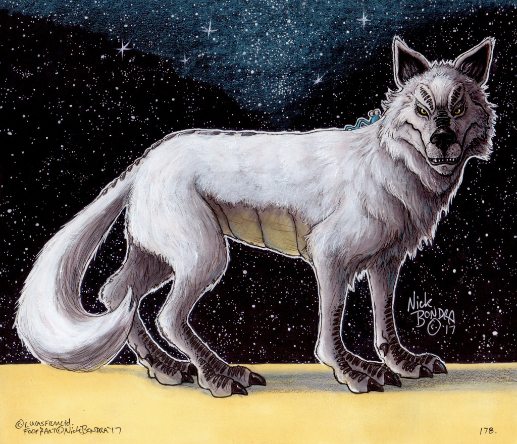 The White Loth-wolf