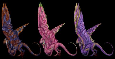 Dragon Colors 1-3