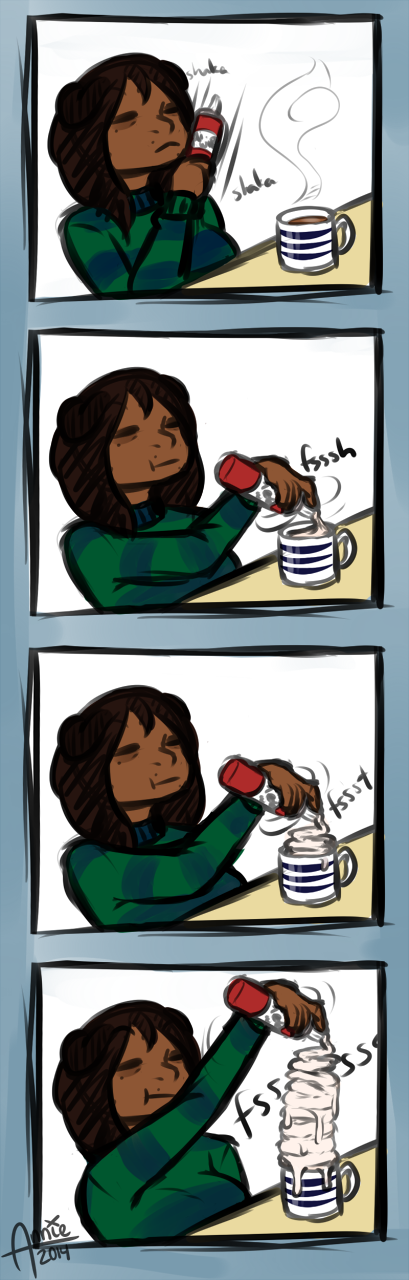Is it even hot chocolate anymore [Comic]