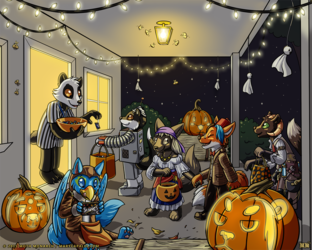YCH Trick-or-Treating!