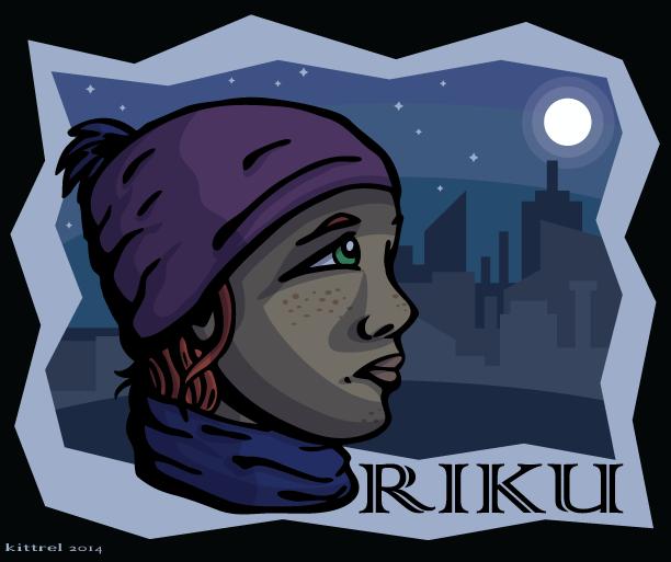 Riku - ConBadge Exchange, June