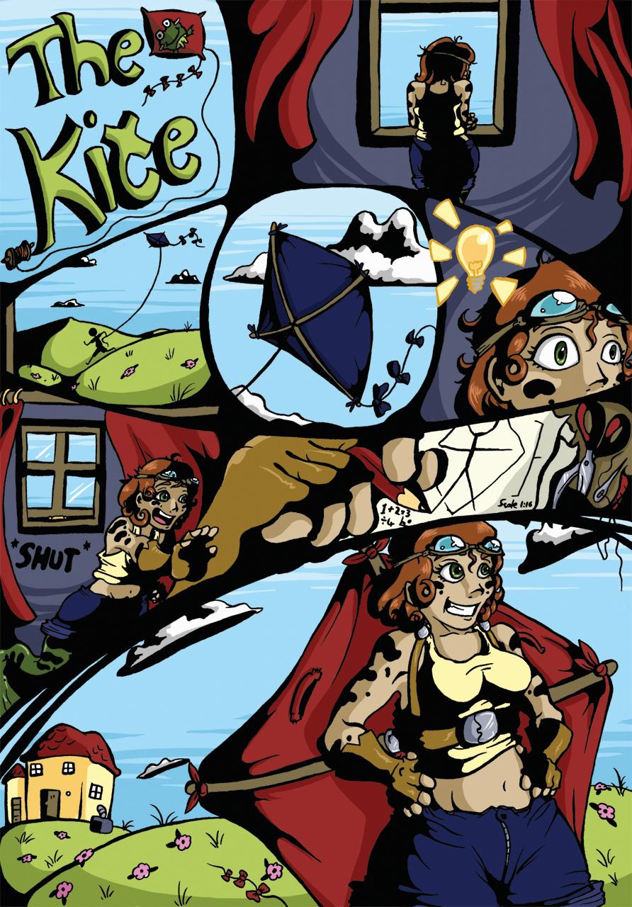 Frog-Legged Girl - Page 1