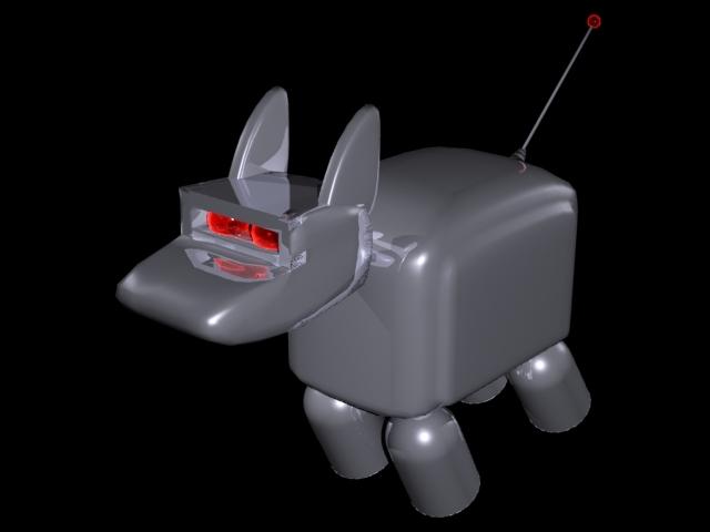 Toaster Dog