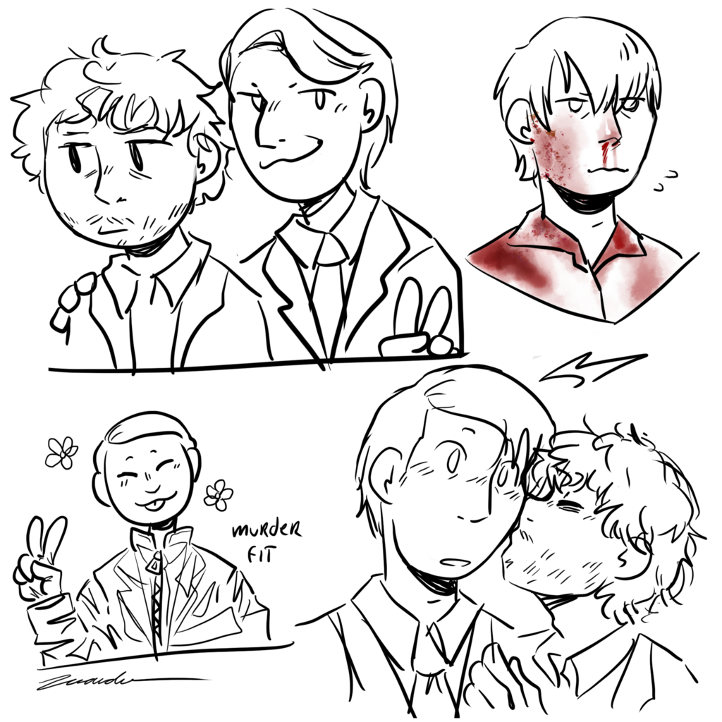Small hannibal sketches