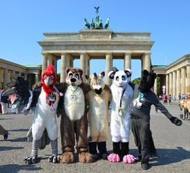 Critters at The Brandenburg Gate