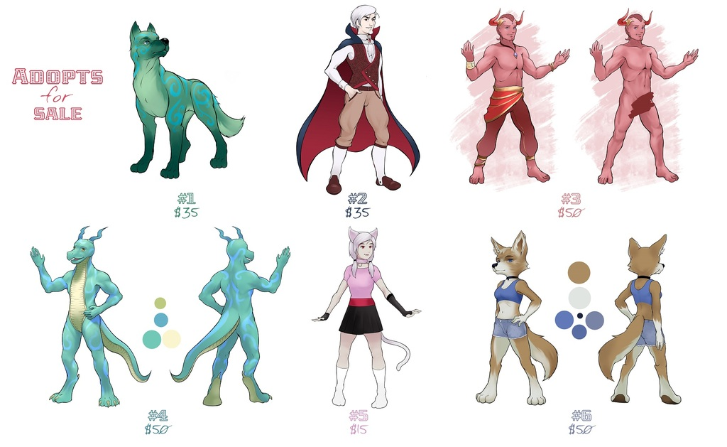 Adopts for Sale!