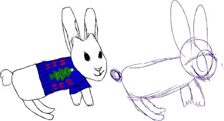 クリスマスウサギ