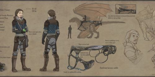 Leonard- A Dragon Rider's Reference Sheet