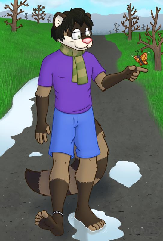 Fuzzy Ferret's Hike