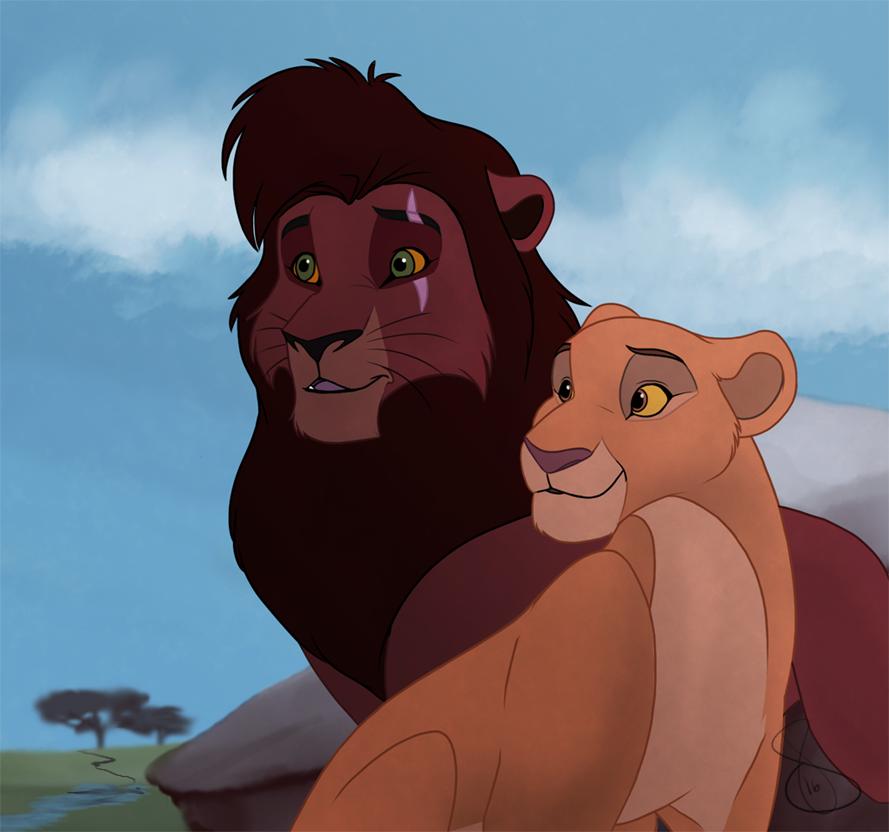 Kovu and Kiara — Weasyl