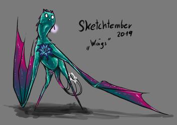 """Sketchtember 2019 """"Wings"""""""
