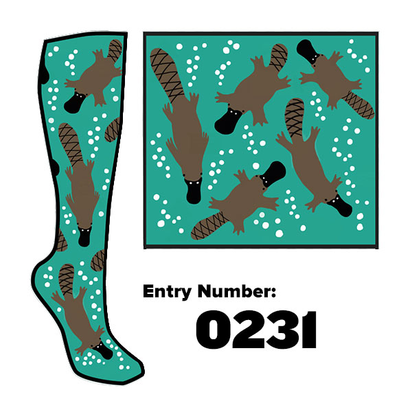 Platypus sock designs PLEASE VOTE!