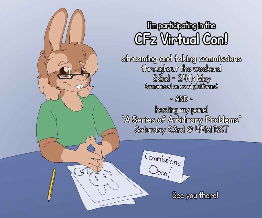 I'm Participating in the CFz Virtual Con!
