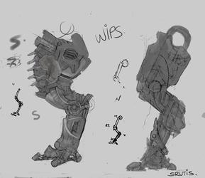 Arkward robo leg concepts...