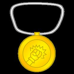 Hyper-Punch Gold Medal