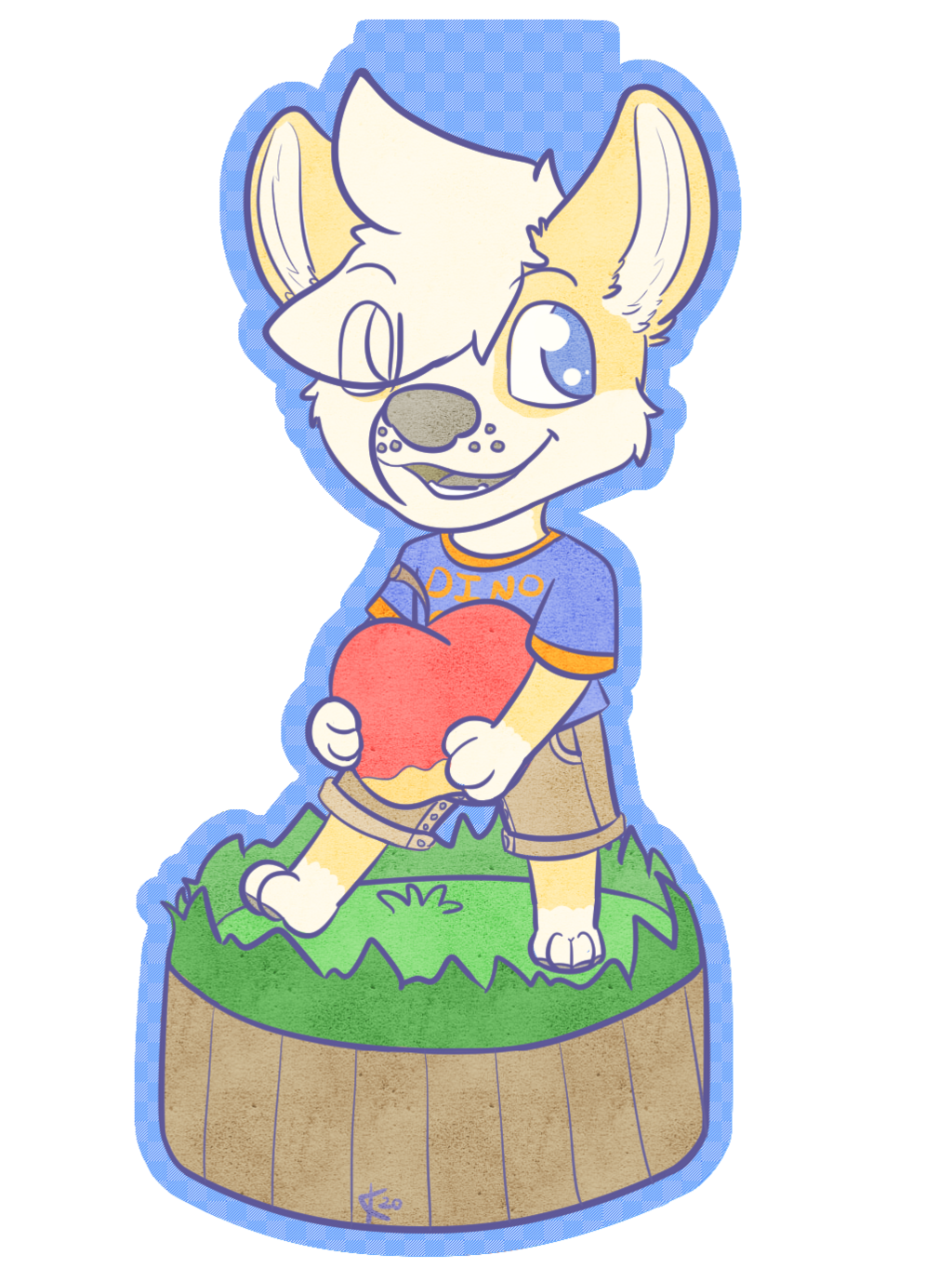 [P] Apple Doggo