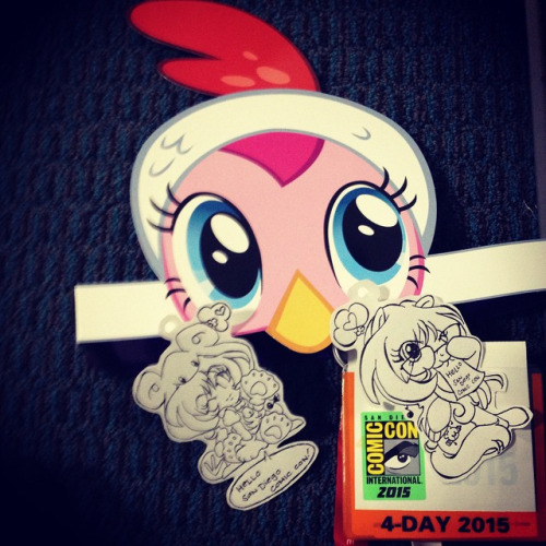 Random: SDCC2015 Badge Art -sketch-
