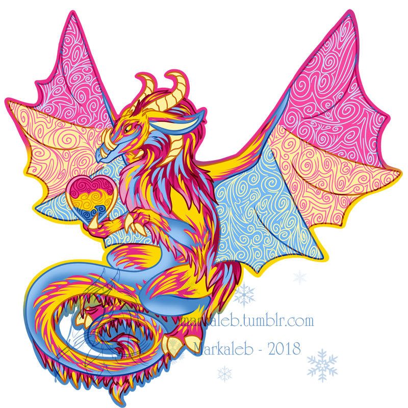 Pan Pride Dragon