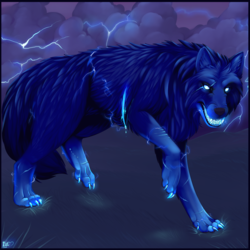 Commission: Storm Wolf