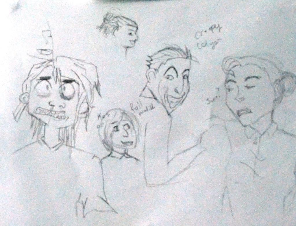 Most recent image: Hawkeye Sketch Dump VI