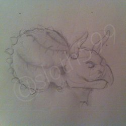 Trike the Triceratops