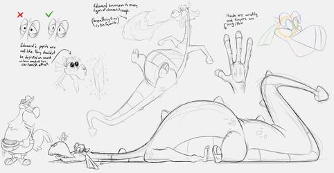 Edouard sketches