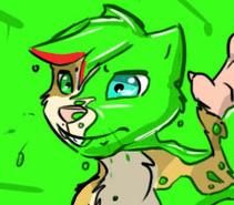 Gift Art - SpiderdaSquirrel - Nilla sLIMEd