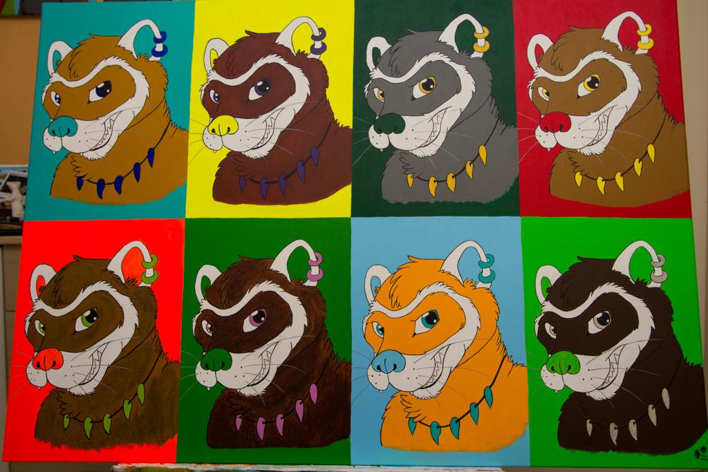 Most recent image: Furious Ferrettis