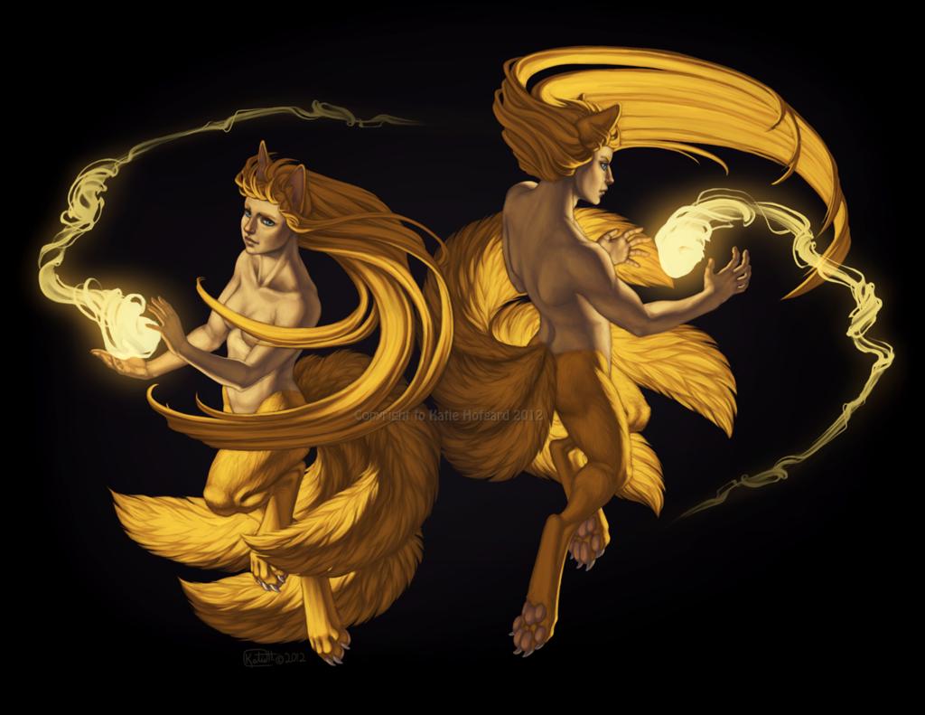 Twin Foxfire