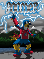 AHL MAX Series Number 02 of 30: Boomer Springfield Thunderbirds