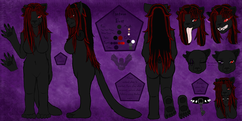 Pantere Bust Reference Sheet