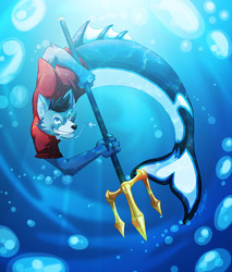 Red Wolf Of The Sea!