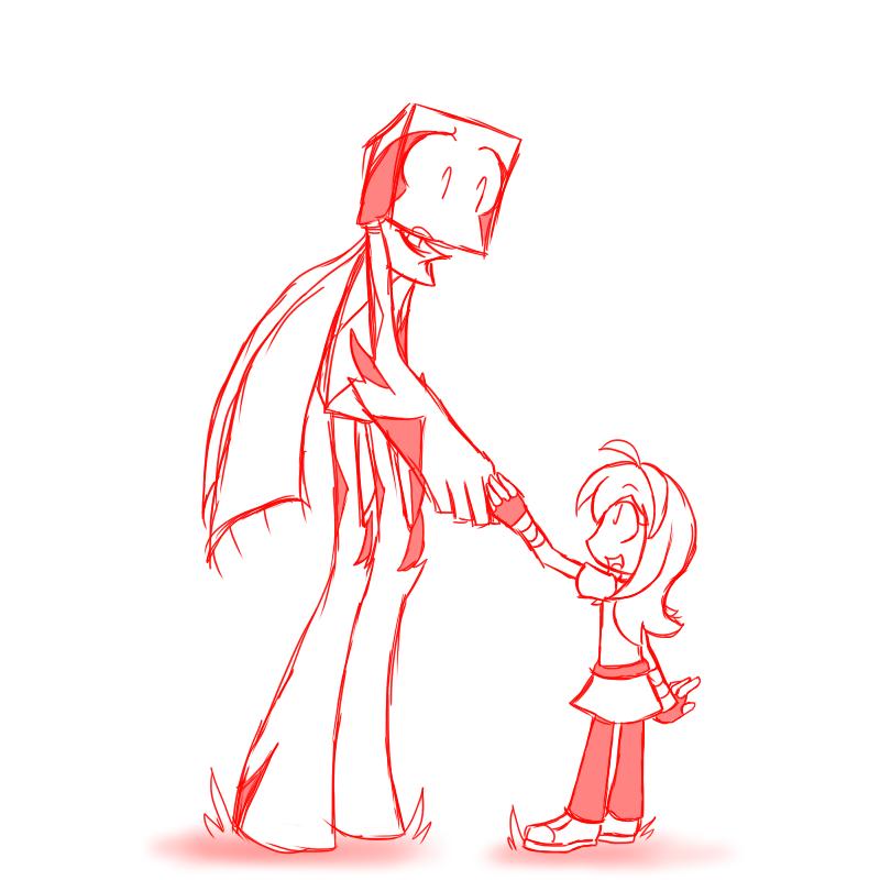 """I'm not afraid of you, mister."""