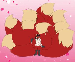 It's Kitsune Time [Art by Masonc1]