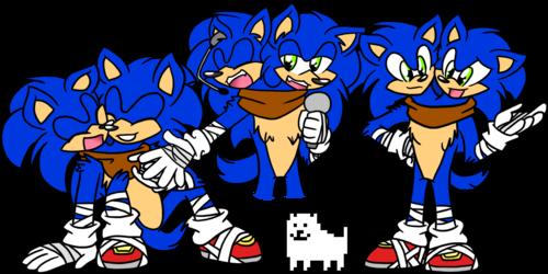 Sonic Boom doodles 4