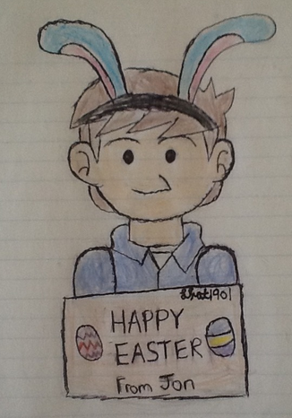 Happpy Easter from Jon