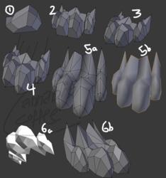 Fursona Model Progress - Foot