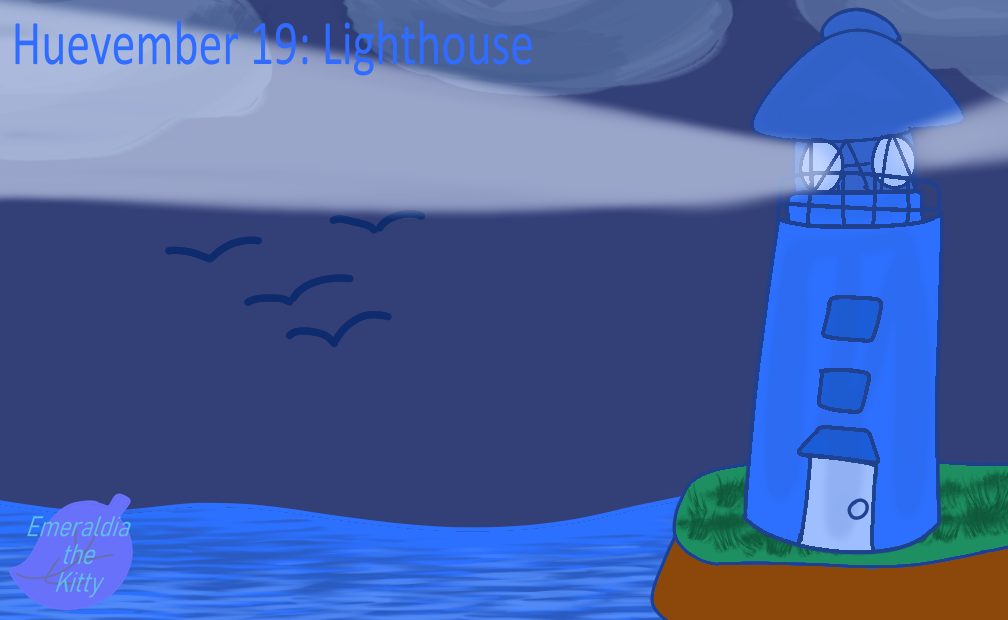 Huevember 19: Lighthouse