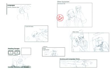 D&D scribbles