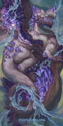 2017 Zodiac Dragons Calendar - Aquarius Dragon
