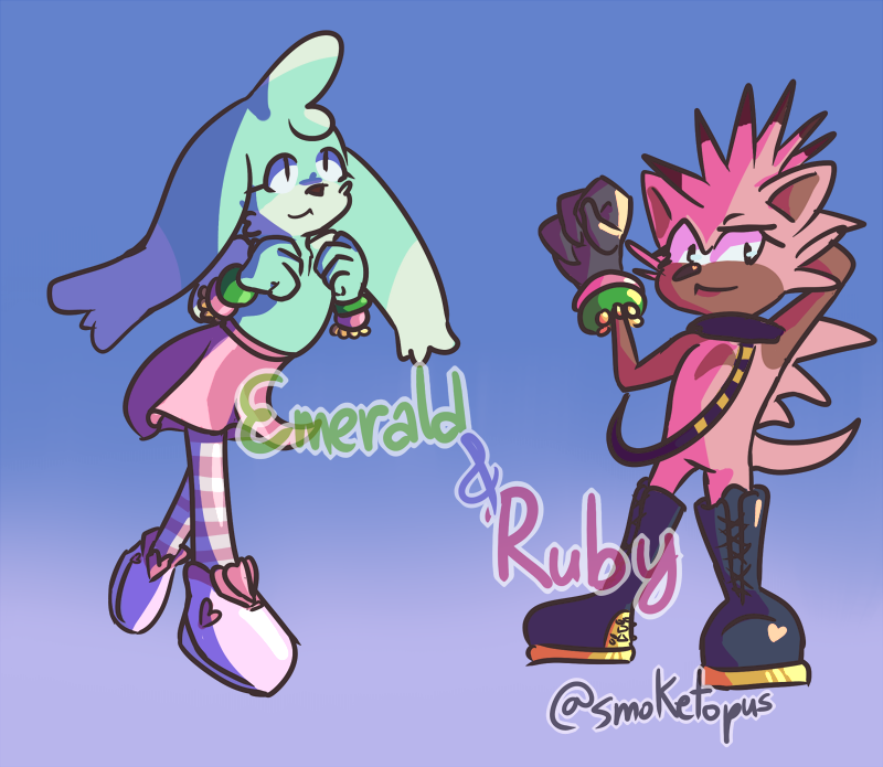 Emerald and Ruby!