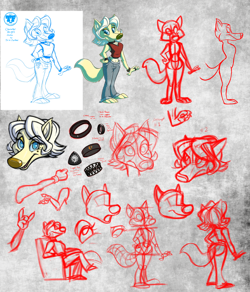 Coyote Girl Development (designed by Cougari)