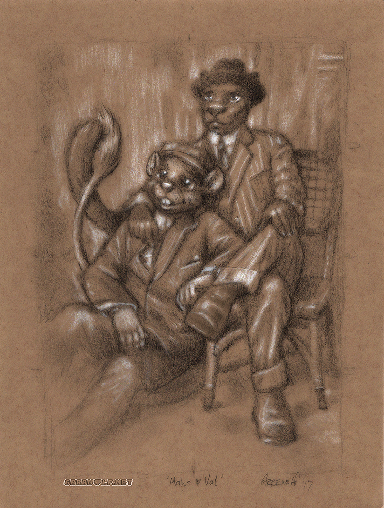 Maho & Val Portrait
